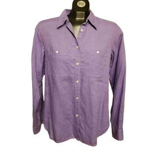 Ralph Lauren 100% Linen Shirt